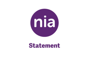 Statement from nia